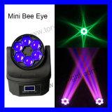 Lumière mobile d'oeil d'abeille de la tête DEL 6PCS*12/15W RGBW