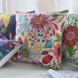Angemessenes Baumwollleinen für Dekoration-Kissen umkleidet dekoratives