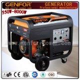 Generador casero del uso, generador de la gasolina 8kVA
