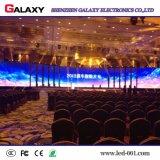 Schneller Verschluss und leichte farbenreiche Innen-Miet-Bildschirmanzeige LED-P2.98/P3.91/P4.81/P5.95/Wand/Panel/Zeichen/Vorstand für Erscheinen, Stadium, Konferenz