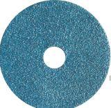 """Disco que enarena 4-1/2 """" X 7/8 """" de la fibra óxido de aluminio de 120 arenas"""