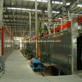 Aluminiumprofil-vertikale Puder-Beschichtung-Zeile