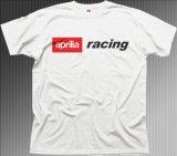 La corsa del cotone dell'erica della motocicletta mette in mostra la maglietta (A639)