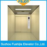 Elevación del elevador de las mercancías de la carga con el tipo de centro de la apertura 6-Panels