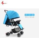 Luxo do bebê do carrinho de criança da parte alta/Pram Foldable carrinho de criança de bebê