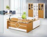 백색 Dectoration 겸손 위원회 나무로 되는 최고 사무실 테이블 (HX-GD010)