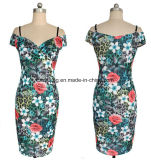 Fünf Farben-Frauen `S Beleg-Kleid