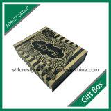 Caixa de papel de empacotamento do cartão da forma do livro com ímãs