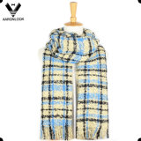 2016 Buena calidad de lazo de hilo A cuadros de la tela escocesa de la bufanda