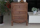 Piccola mobilia di legno misera della camera da letto