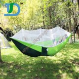 Portable outdoor Traveling camping nylon Hanging Hammock with Mosquito Net
