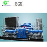 Compressor do impulsionador CNG do gás natural usado nos campos petrolíferos