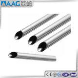 Tubo de aluminio rectangular del OEM