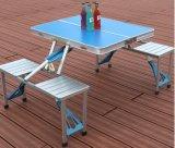 Portable che piega la Tabella di picnic esterna della valigia dell'accampamento con 4 sedi