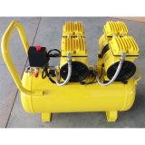 mini Oilless Portalbe compresor de aire silencioso sin aceite de 2X550W 50L