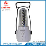 luz Emergency de la exportación de 36PCS 3528 SMD LED +USB