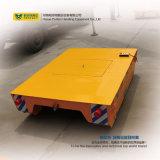Carretilla de acero del transporte de carril del carro de la transferencia de la rueda en industria de construcción naval