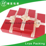 Contenitore di carta impaccante di marchio del nastro della chiusura di regalo su ordinazione dei monili