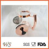 Создатель кофеего давления кофеего нержавеющей стали надувательства давления франчуза Rose-Золота Wschsy010 горячий