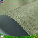 Tissu enduit de rideau en PVC de polyester tissé par arrêt total ignifuge imperméable à l'eau à la maison de textile