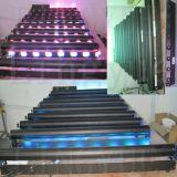 8X10W Cabeza Móvil LED Etapa Ligera Boda para Coral