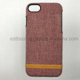 Caisse mobile de téléphone d'accessoires de l'iPhone 7 en cuir
