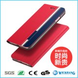 Form-Leder-Kippen-Telefon-Kasten für iPhone 7/7 Plus