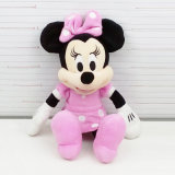 본래 특별한 귀여운 견면 벨벳 마우스 장난감 Mickey 견면 벨벳 장난감