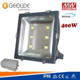 Projector ao ar livre IP65 do diodo emissor de luz da luz de inundação da iluminação do diodo emissor de luz da qualidade 10With20With30With50With100With200With320With400W (FL104) MW Driver+Bridgelux