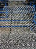 Sailinはチェーン・リンクの金網の塀に電流を通した