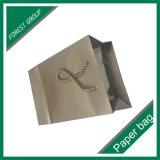 Logotipo extravagante novo saco de compra impresso com punho