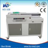 Carpeta perfecta del pegamento de la máquina obligatoria del pegamento (WD-50B)