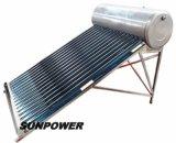 Calentador de agua solar no presurizado