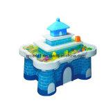 Máquina de juego de vector de la arena del juego de Arcadequiz para los niños
