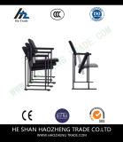 Голубая сеть ноги смычка подлокотника стула