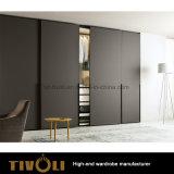 호주 Tivo-0008hw를 위한 주문품 백색 높은 광택 페인트 옷장 키 큰 소폭