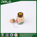 2ml 삼각형 모양 유리제 코르크 병 나무로 되는 코르크 마개