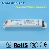 excitador atual constante do diodo emissor de luz da fonte de alimentação do caso 40W plástico
