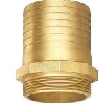 Instalaciones de tuberías de cobre amarillo puras del conector del manguito de la alta calidad