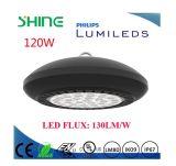 Lumière élevée imperméable à l'eau de compartiment d'UFO DEL Highbay de température de couleur d'IP67 2700-6500k