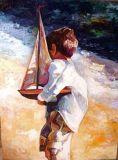 Peinture à l'huile d'impressionisme (02)