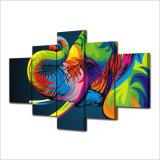 HD напечатало цветастую холстину Mc-074 изображения плаката печати декора комнаты печати холстины картины слона