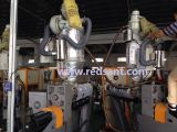 Material de aislamiento de alta temperatura de la chaqueta de la máquina de moldeo por inyección