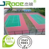 Resistente al desgaste de la superficie de suelo deportivo para jugar al aire libre