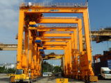Cavalletto Crane per Container Use