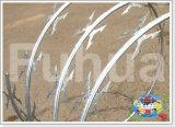 熱いGalv。 アコーディオン式かみそりの有刺鉄線の塀Cbt60