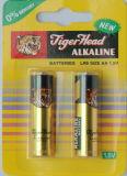 Manufactory do original da cabeça do tigre da bateria alcalina