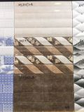 2 azulejo de cerámica de la pared de la impresión del mármol 3D de la onda del cuarto de baño de los colores