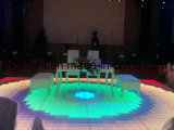 Diodo emissor de luz básico Digital Dance Floor do RGB da versão da luz 1mx1m do disco do casamento do partido do estágio