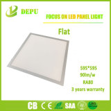 Luz de teto de alumínio do diodo emissor de luz do quadrado da luz de painel do diodo emissor de luz do frame SMD2835, luz de painel do diodo emissor de luz